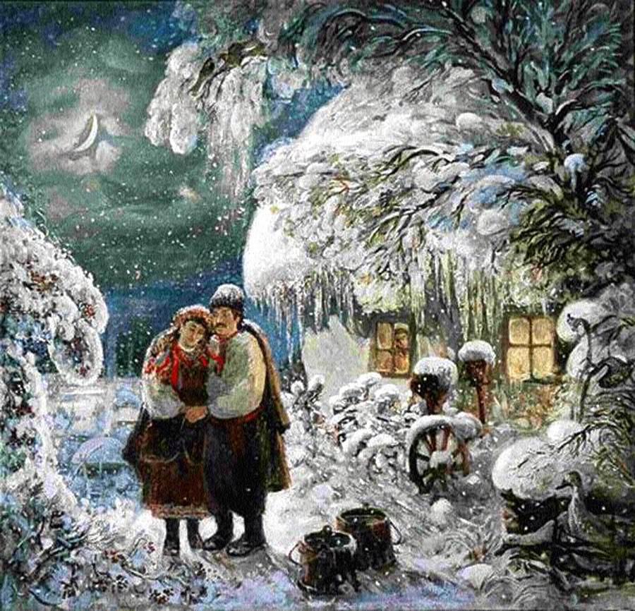 сказка ночь перед рождеством гоголь