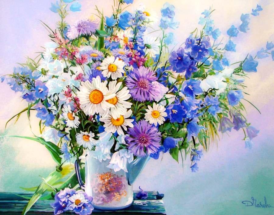 Картинки цветов гуашью 5